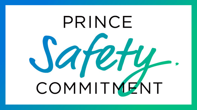 (Prince Safety Commitmentロゴ)