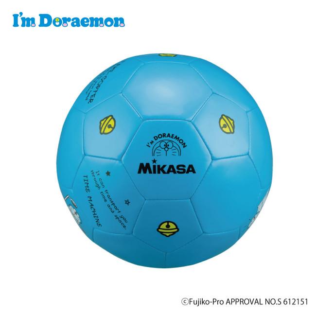 ドラえもんサッカーボール (レジャーボール)ブルー F353-DR-BL