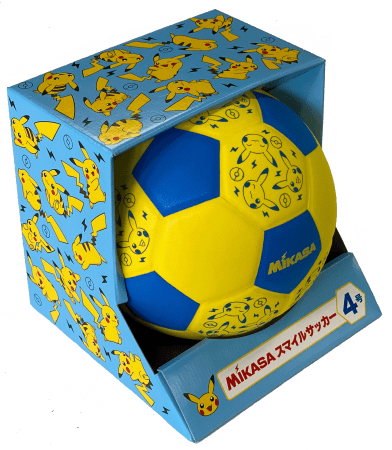 MIKASA スマイルサッカーボール4号 Pokémon SPORTS