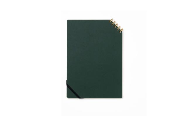 斜めリングノート罫線