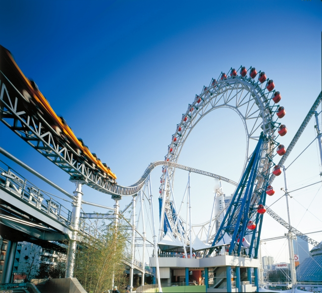 大人から子供まで楽しめる遊園地、東京ドームシティアトラクションズ