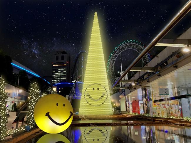 東京ドームシティ ウィンターイルミネーション『スマイルミ』イメージ