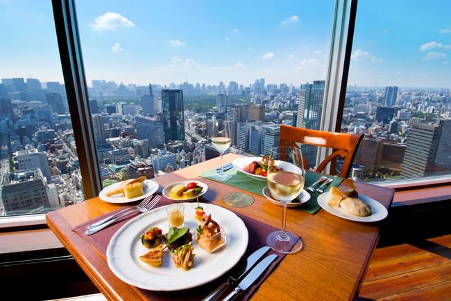 爽快な眺望と美食を堪能できる「パノラマランチコース」イメージ