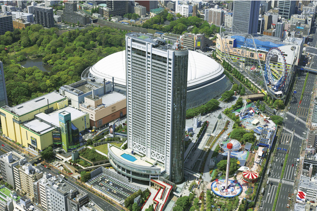 食・癒し・寛ぎが叶う。東京ドームシティ&東京ドームホテル