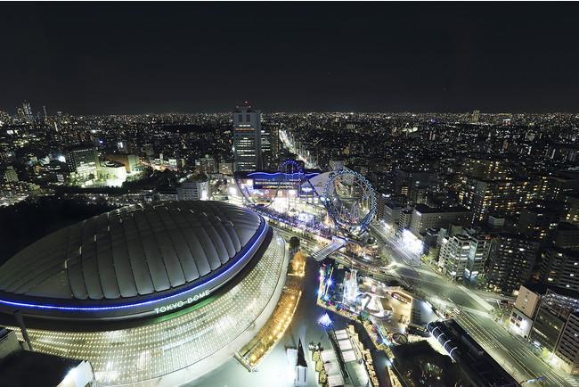 眺望:東京ドーム側