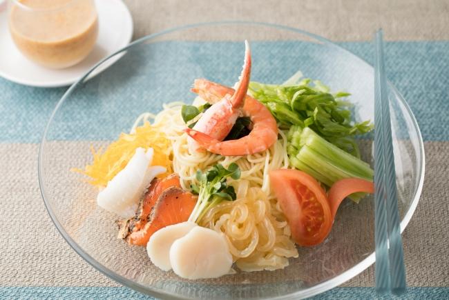 海鮮涼麺条