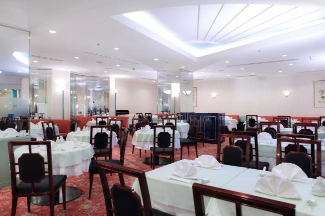 中国料理「後楽園飯店」店内