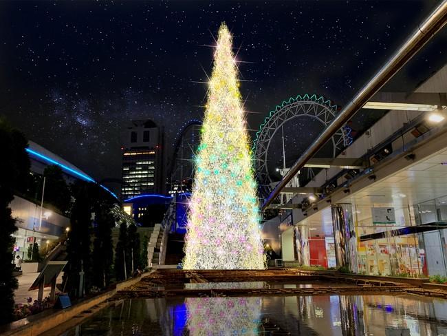 「東京ドームシティ ウィンターイルミネーション」メインツリーイメージ