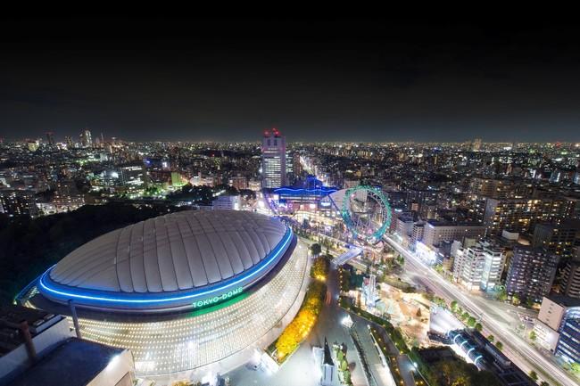 客室から見える絶景!東京ドームシティのイルミネーションイメージ