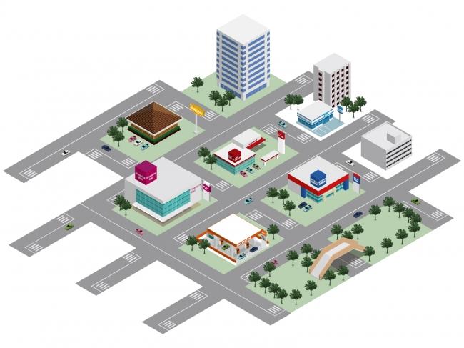 ※デジタル商店街のイメージ画像