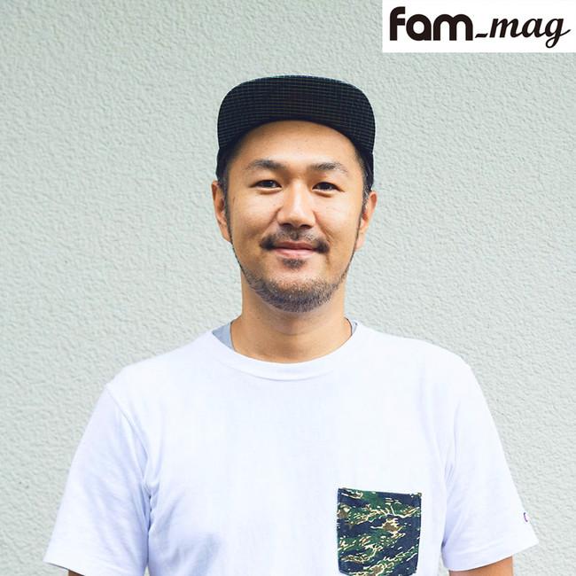 キャンプ誌fam_mag編集長 槻真悟