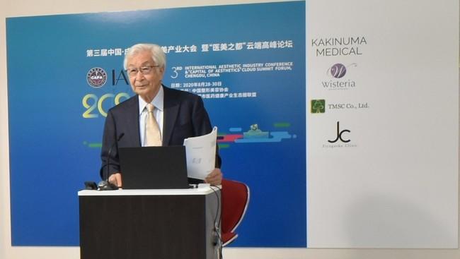 北里大学名誉教授 塩谷信幸先生