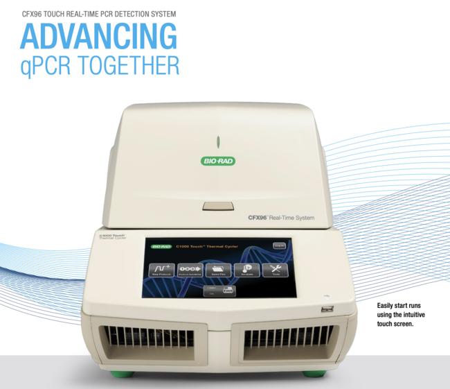 リアルタイムPCR検査機器(Bio-Rad社)