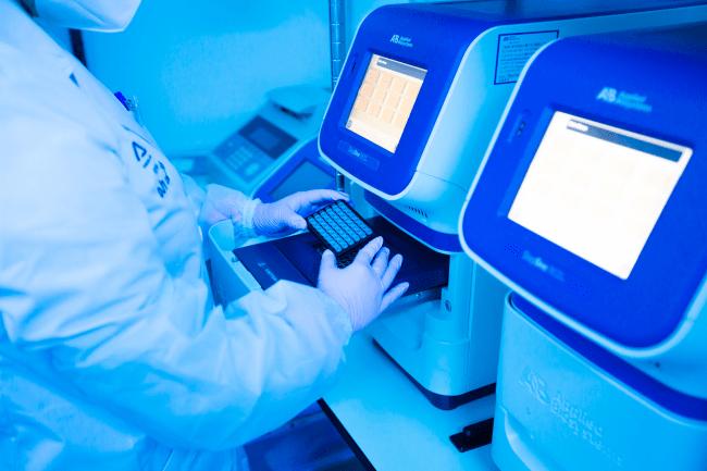 RT-PCR法によるPCR検査 当社内ラボ