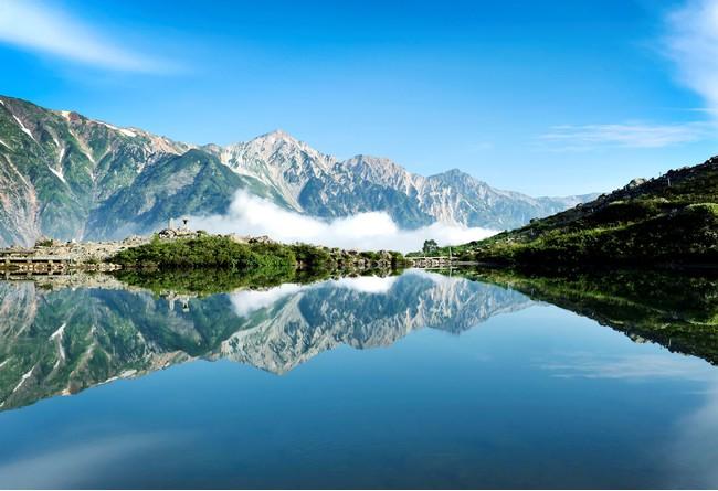 絶景の白馬村(八方池)