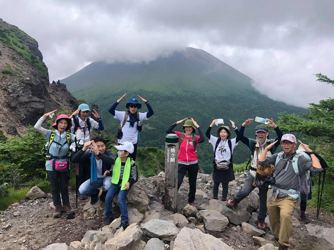 プログラム例1. 地元の山に登ろう!絶景の黒斑山登山