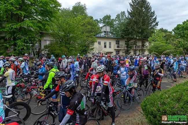 毎年恒例だった5月のサイクルイベント「グランフォンドKOMORO」も 新型コロナ感染拡大を受け、2020年・2021年大会は中止となった