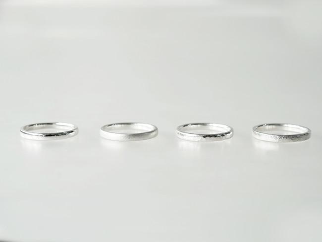 リングデザインは4種類から選べる