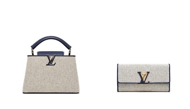 (左から)バッグ「カプシーヌ BB」¥510,000、ウォレット ¥149,000(ともに限定商品)