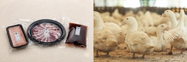 紀州鴨の鴨鍋セット ¥6,800(税込) 高級で希少な国産最上級「紀州鴨」を使用