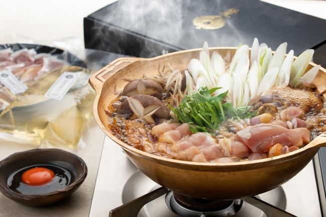 淡海地鶏の鶏すき焼き