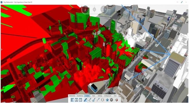 参考画像(2)_大成建設がバーチャル都市のためにダッソー・システムズの3DEXPERIENCEプラットフォームを採用