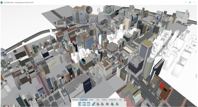 参考画像(1)_大成建設がバーチャル都市のためにダッソー・システムズの3DEXPERIENCEプラットフォームを採用