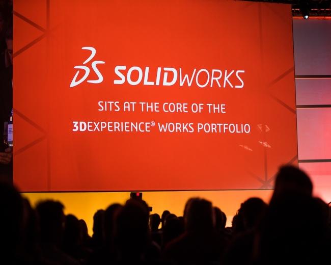 3DEXPERIENCE WORKS の発表風景 (2020年2月10日、米国ナッシュビルの3DEXPERIENCE World 2020 会場にて) (出典:Courtesy of Dassault Systèmes)
