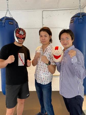 左からリベルタ代表左右田、UZUMAKI代表工藤、エーテンラボ代表長坂