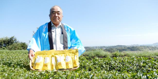 (写真:志布志市茶業振興会 吉野会長)