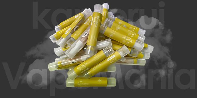 数量限定の CBN カートリッジは上品な香りのBanana Kush