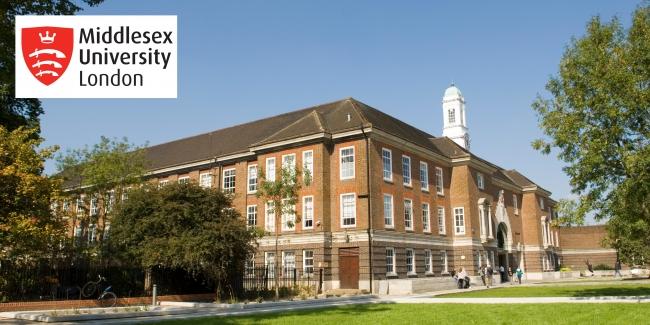 英国国立大学ミドルセックス大学