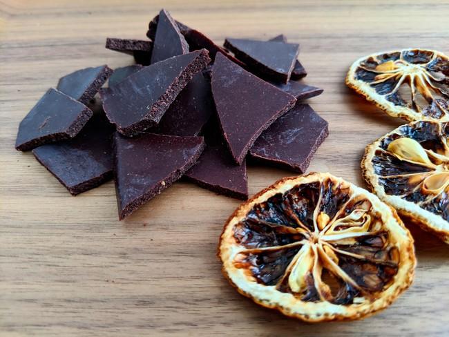 チョコレート 金澤の柚子【光のかけら】(J,C,P,F,N) ¥1,200(税抜)
