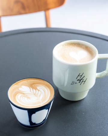 こだわりのコーヒーを絶景と共に