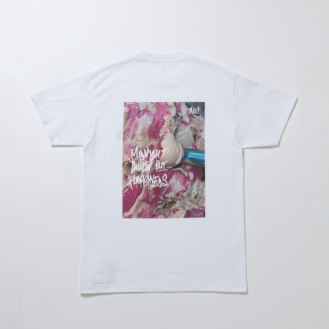 ホワイトデーのギフトに、アイスクリームブランド『 NEW 』からエクスクルーシブなTシャツ、「カラメーラ」アイスクリームが3/6(土)より発売