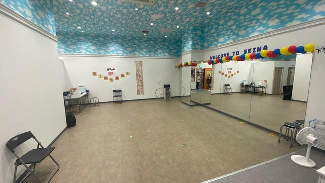 本格的なダンススタジオ