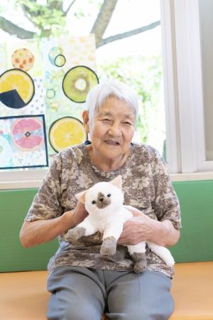 猫ちゃんとおばあちゃん
