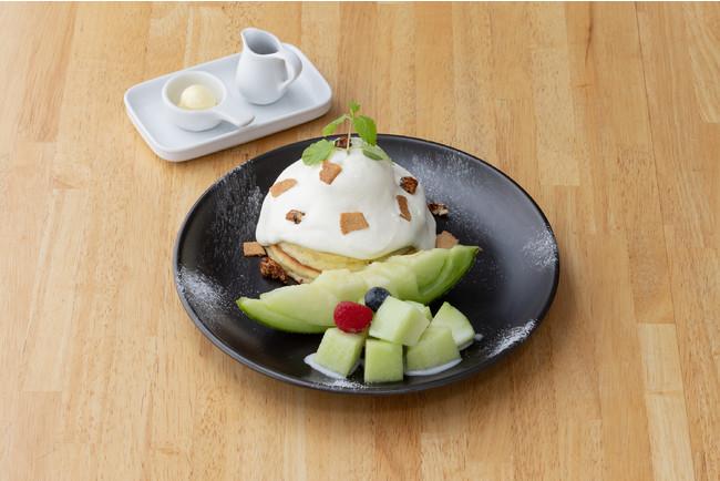 ホットケーキパーラー Fru-Full赤坂店 「メロンマスカルポーネホットケーキ」