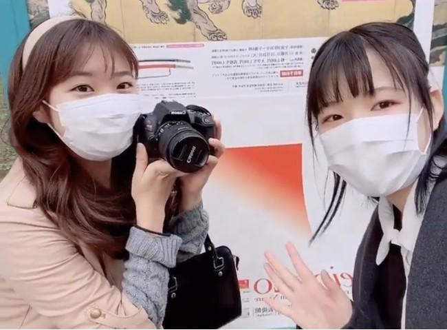 (株)wakonartが実施した学生による取材企画の様子 (メディア事業のイメージ参考