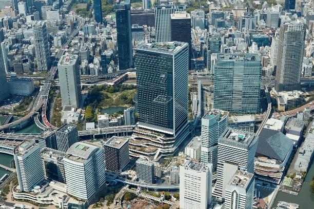 iU サテライトオフィ東京ポートシティ竹芝全景