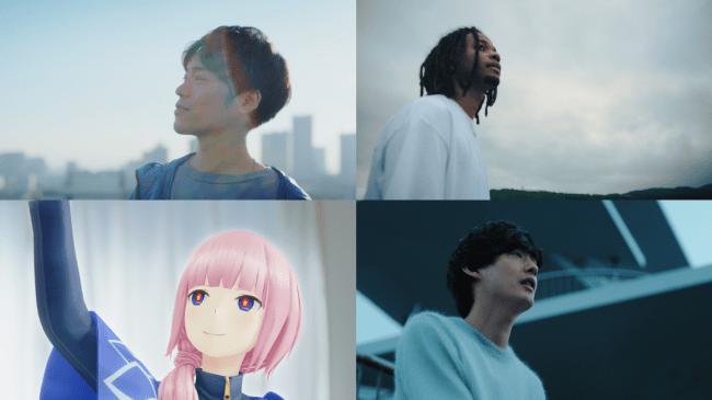 ※画像左上:小野賢章、右上:Daichi Yamamoto、左下:花譜、右下:向井太一