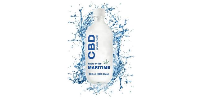 天然麻由来成分CBD(カンナビジオール)入りの清涼飲料水 CBDウォーター