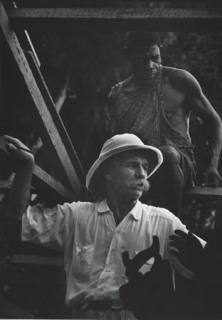 建設現場のシュヴァイツァー,ガボン,1954年 (C) 2017 The Heirs of W. Eugene Smith