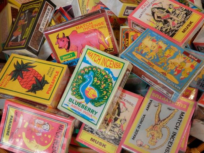 インドのマッチ箱に入った、集めても飾っても楽しいお香¥162税込