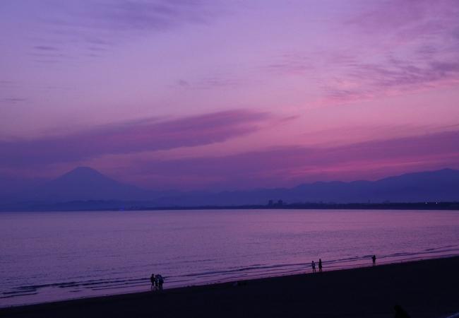 Kahikoから歩いて1分の鵠沼海岸