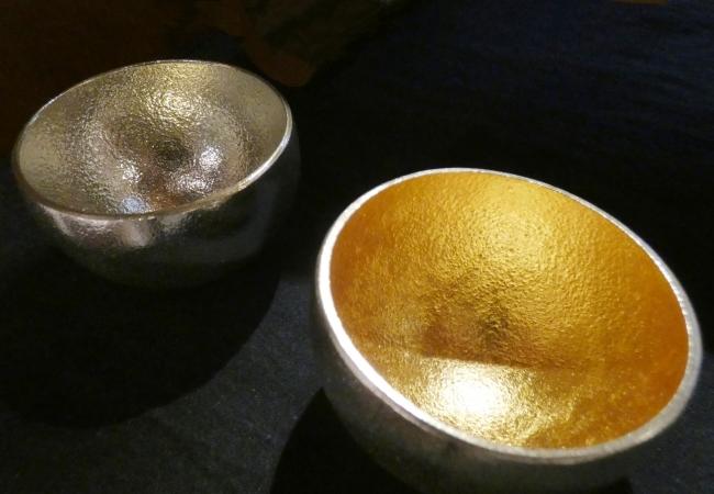 Kuzushi Yure (くずし ゆれ) 2個セット 金箔 [石川県金沢市:製作]