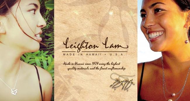 ハワイの美しい自然をデザインした、Made in HAWAIIのアクセサリーブランド、Leighton lam(レイトンラム)