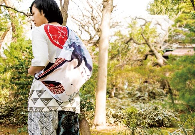 浮世絵タスキバッグ ¥3,850(7月入荷の新商品)