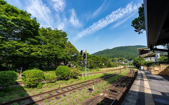 JR「由布院駅」観光列車「ゆふいんの森」博多駅から由布院駅までを約2時間半