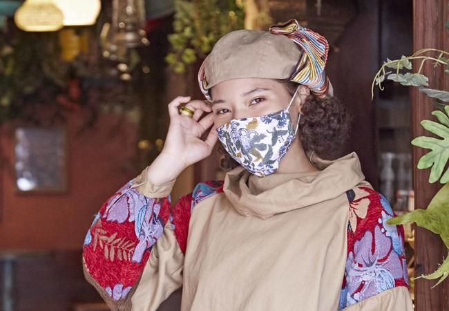 インドの伝統技法、「ブロックプリント」のマスク